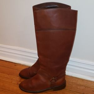 Cole Haan leather high riding boots size 6.5